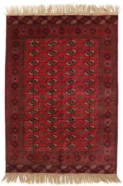 Bokhara/Yamut Rug 164X248 Authentic  Oriental Handknotted Dark Red (Wool, Turkmenistan/Russia)
