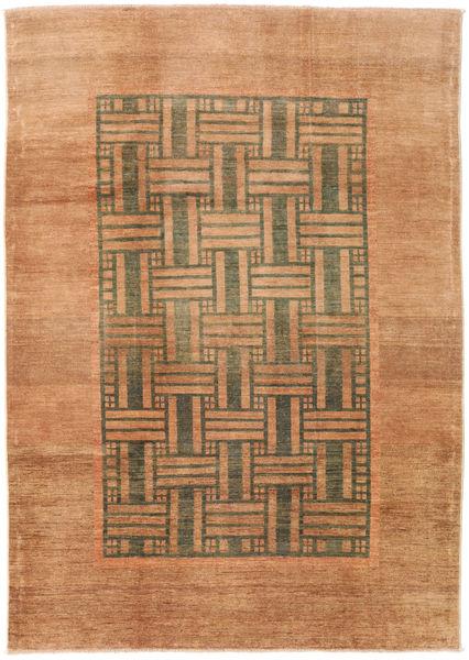 Ziegler Modern Rug 198X281 Authentic  Modern Handknotted Brown/Light Brown (Wool, Pakistan)