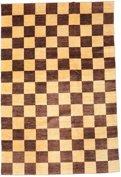 Ziegler Moderni Matto 195X295 Moderni Käsinsolmittu Tummanpunainen/Vaaleanruskea/Tummanbeige (Villa, Pakistan)