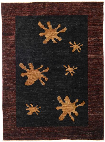 Ziegler Modern Rug 147X198 Authentic  Modern Handknotted Black/Dark Red (Wool, Pakistan)