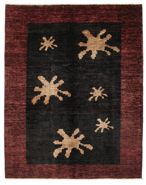 Ziegler Moderna Matta 152X192 Äkta Modern Handknuten Mörkbrun/Mörkröd (Ull, Pakistan)