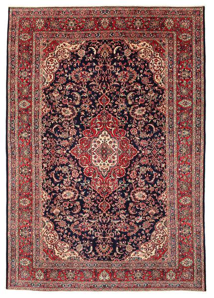 Hamadan Shahrbaf Patina Teppich  212X308 Echter Orientalischer Handgeknüpfter Braun/Schwartz (Wolle, Persien/Iran)