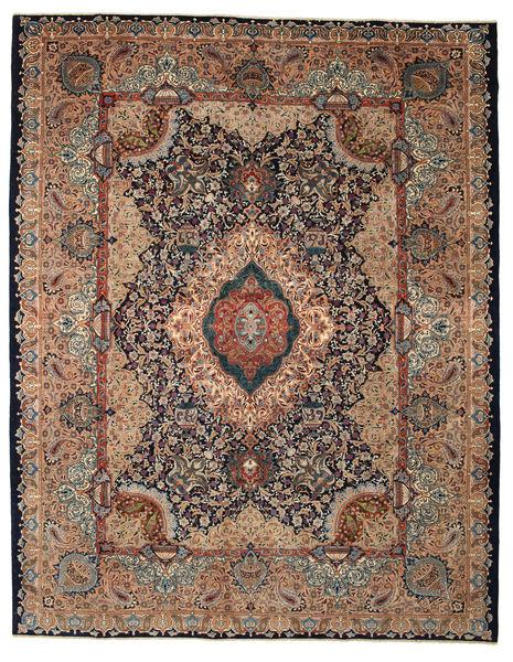Kashmar Patina Teppe 298X382 Ekte Orientalsk Håndknyttet Lysbrun/Mørk Brun Stort (Ull, Persia/Iran)