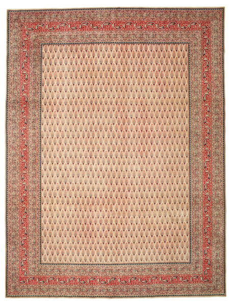 Tabriz Patina Matta 302X400 Äkta Orientalisk Handknuten Ljusbrun/Brun Stor (Ull, Persien/Iran)