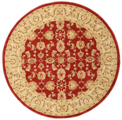 Ziegler Kaspin - Czerwony Dywan Ø 200 Orientalny Okrągły Rdzawy/Czerwony/Jasnobrązowy/Ciemnobeżowy ( Turcja)