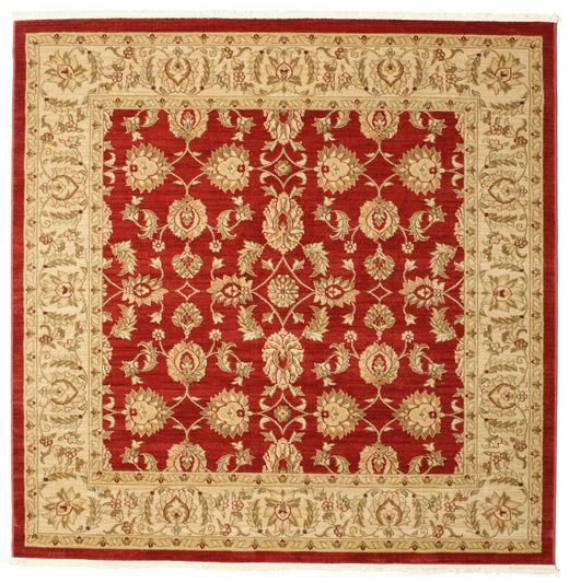 Ziegler Kaspin - Czerwony Dywan 192X192 Orientalny Kwadratowy Jasnobrązowy/Rdzawy/Czerwony ( Turcja)