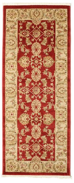 Ziegler Kaspin - Czerwony Dywan 80X200 Orientalny Chodnik Ciemnobeżowy/Czerwony ( Turcja)
