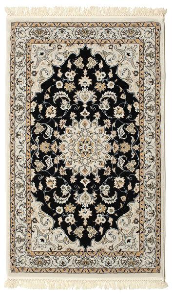 Nain Mahak Teppich  100X160 Orientalischer Hellbraun/Beige ( Türkei)