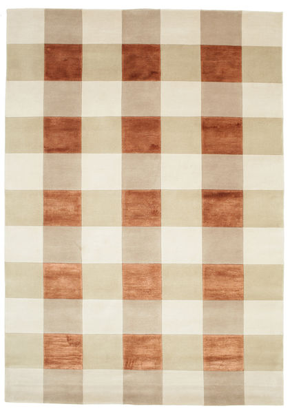 Imperial - Copper Rug 170X240 Authentic  Modern Handknotted Beige/Light Brown/Dark Beige ( India)