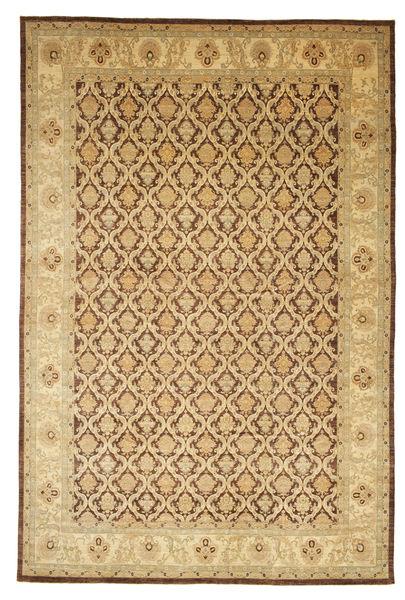 Ziegler Matto 487X738 Itämainen Käsinsolmittu Vaaleanruskea/Ruskea/Tummanbeige Isot (Villa, Pakistan)