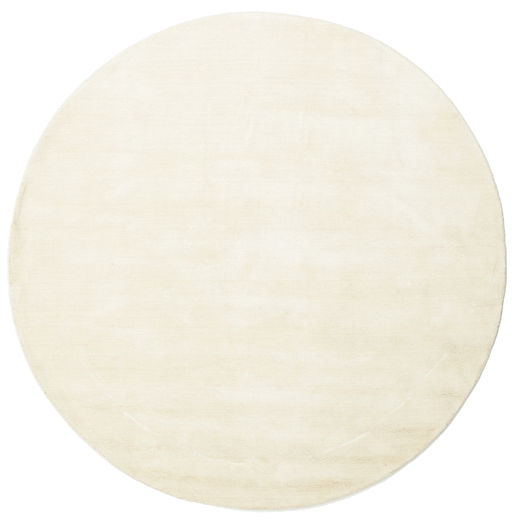 Handloom - Light Rug Ø 200 Modern Round Beige (Wool, India)