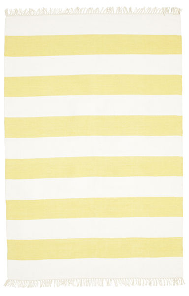 Alfombra Cotton stripe - Amarillo CVD4939