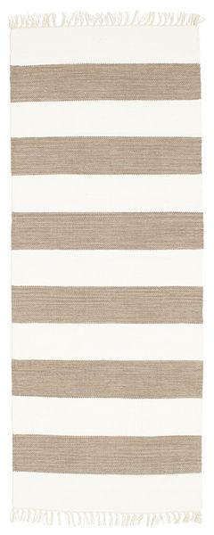 Cotton stripe - Bruin tapijt CVD4905