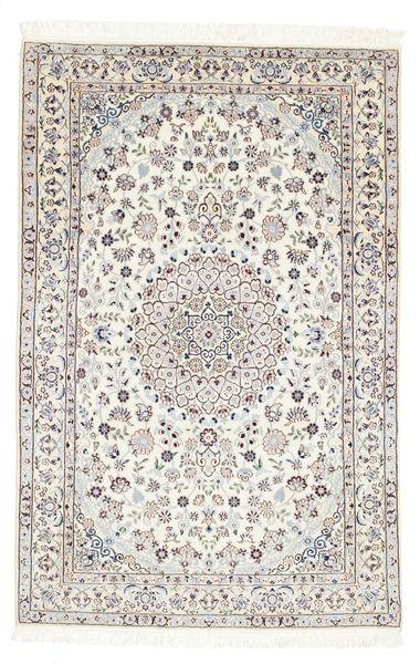 Naïn 6La Tapis 97X150 D'orient Fait Main Beige (Laine/Soie, Perse/Iran)