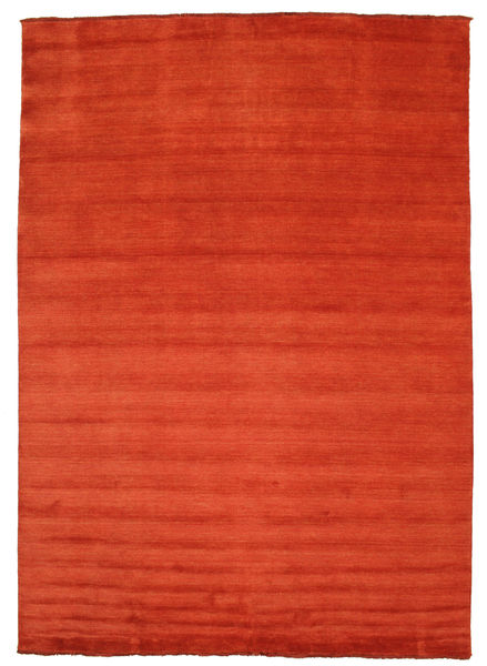 Handloom fringes - Ruoste / Punainen-matto CVD5394