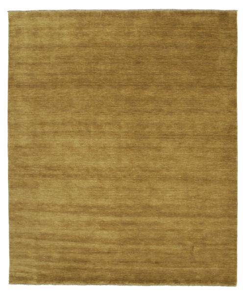 Handloom fringes - Olivengrønn teppe CVD5348