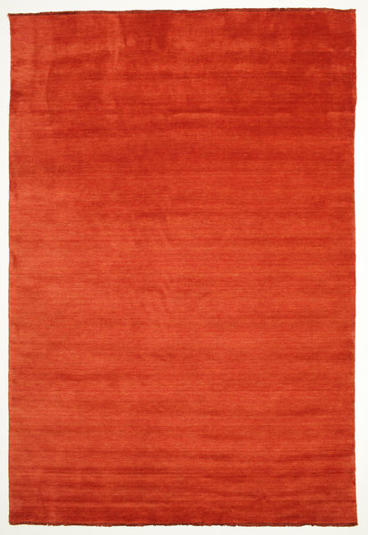 Handloom Fringes - Rust/Red Rug 220X320 Modern Rust Red/Orange (Wool, India)