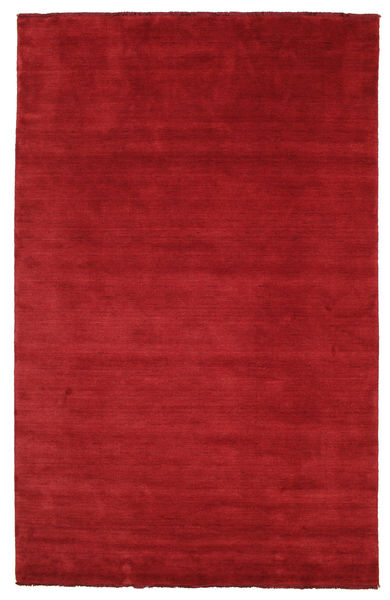 Covor Handloom fringes - Dark Red CVD5254
