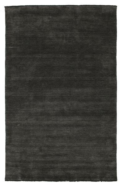Handloom fringes - Svart / Grå teppe CVD5474