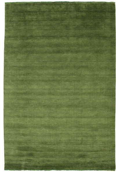 Handloom fringes - Green carpet CVD5279