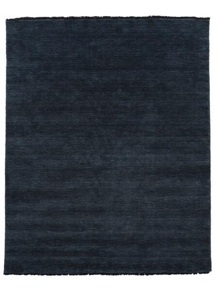 Handloom Fringes - Ciemnoniebieski Dywan 200X250 Nowoczesny Czarny (Wełna, Indie)