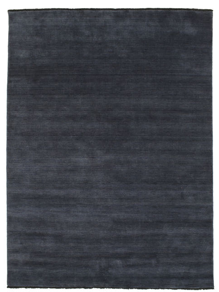 Handloom Fringes - Bleu Foncé Tapis 200X250 Moderne Bleu Foncé (Laine, Inde)