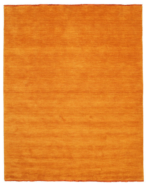 Handloom Fringes - Orange Rug 200X250 Modern Orange (Wool, India)