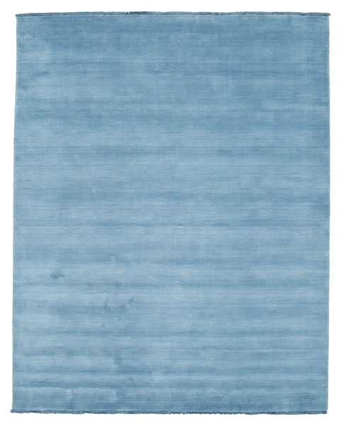 Handloom Fringes - Bleu Clair Tapis 200X250 Moderne Bleu Clair (Laine, Inde)