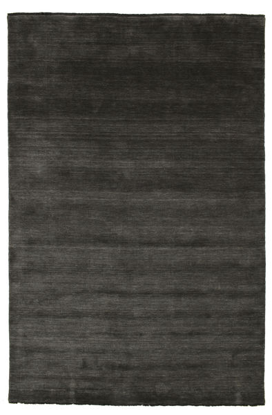 Handloom fringes - Musta / Harmaa-matto CVD5473