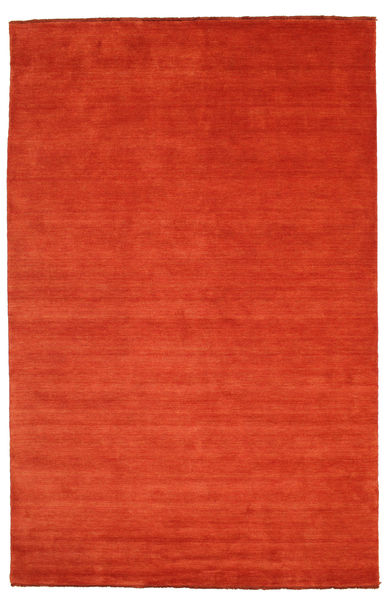 Handloom Fringes - Rust/Red Rug 200X300 Modern Rust Red/Orange (Wool, India)