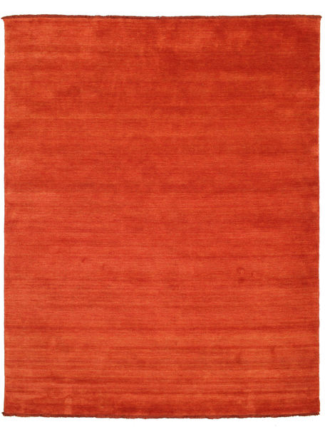 Handloom Fringes - Rust/Rød Teppe 200X250 Moderne Rust/Orange (Ull, India)