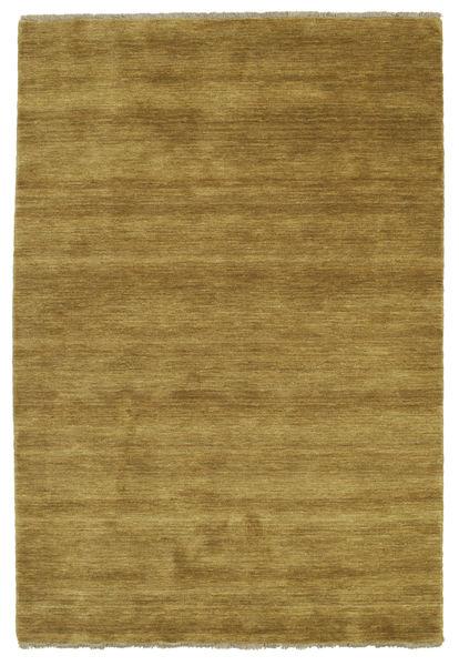 Handloom fringes - Olive Green rug CVD5355