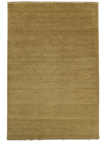 Handloom fringes - Oliivinvihreä-matto CVD5354