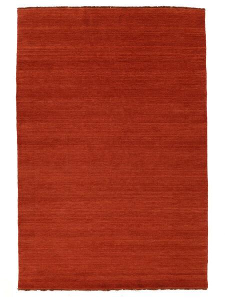 Dywan Handloom fringes - Rdzawy / Czerwony CVD5403