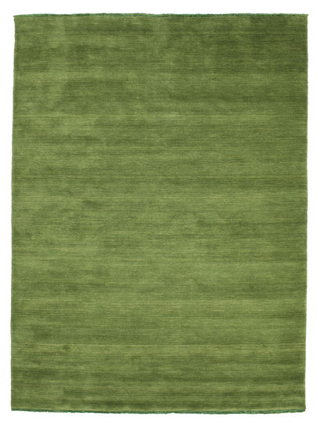 Tapis Handloom fringes - Vert CVD5284