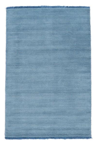 Handloom Fringes - Lys Blå Teppe 160X230 Moderne Lys Blå/Blå (Ull, India)