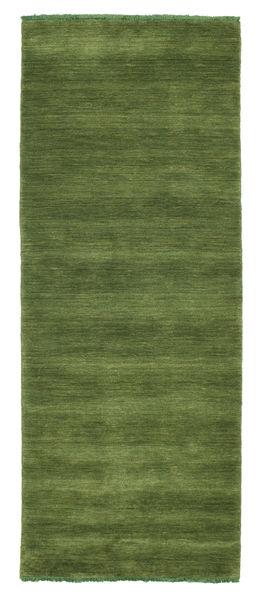 Handloom fringes - Grön matta CVD5287