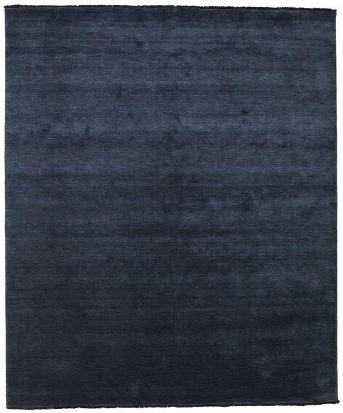 Handloom Fringes - Azul Oscuro Alfombra 250X300 Moderna Azul Oscuro/Azul Grande (Lana, India)
