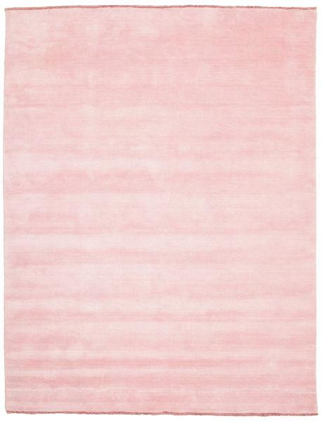 Handloom Fringes - Pink Teppe 200X250 Moderne Lyserosa (Ull, India)