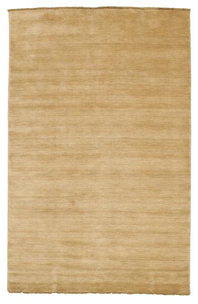 Handloom fringes - Beige carpet CVD5499