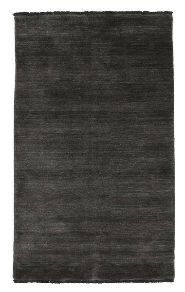 Handloom Fringes - Black/Grey Rug 100X160 Modern Black/Dark Grey (Wool, India)