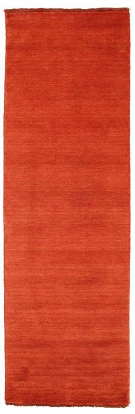 Tapete Handloom fringes - Castanho alaranjado / Vermelho CVD5414