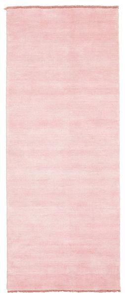 Handloom fringes - Pink carpet CVD5310
