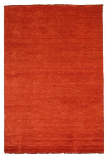Handloom Fringes - Rust/Red Rug 140X200 Modern Rust Red (Wool, India)