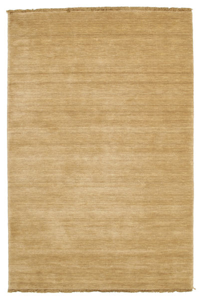 Handloom Fringes - Beige Vloerkleed 120X180 Modern Donkerbeige/Lichtbruin (Wol, India)