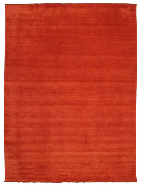 Handloom Fringes - Rust/Red Rug 300X400 Modern Rust Red Large (Wool, India)