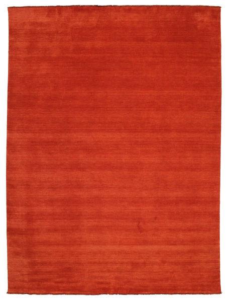 Handloom Fringes - Ruoste/Punainen Matto 300X400 Moderni Ruoste Isot (Villa, Intia)