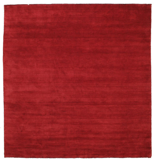 Tappeto Handloom fringes - Rosso scuro CVD5252
