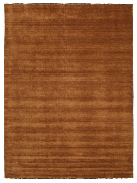 Handloom Fringes - Brown Rug 300X400 Modern Brown/Dark Red Large (Wool, India)