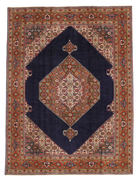 Tabriz Patina Alfombra 238X315 Oriental Hecha A Mano Marrón Oscuro/Púrpura Oscuro (Lana, Persia/Irán)